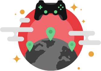 Using a VPN for gaming online will encrypt your Internet connection and keep your private information safe and secure.